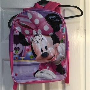 Minnie Mouse children's backpack. NWOT
